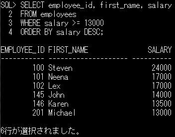 SQL] SELECT文を使ったデータの操作   Think IT(シンクイット)