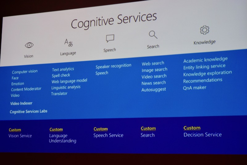 cognitive servicesからmachine learning servicesまで マイクロソフトの