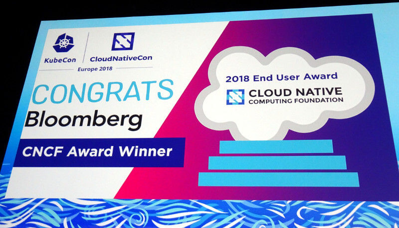 End User AwardはBloomberg