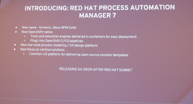 Red Hat Process Automation Manager 7について