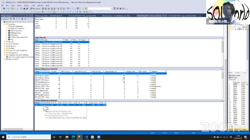 SQL ServerのPerformance Dashboard